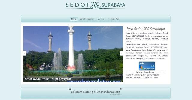 Seo Website Jasa Sedot Wc Surabaya