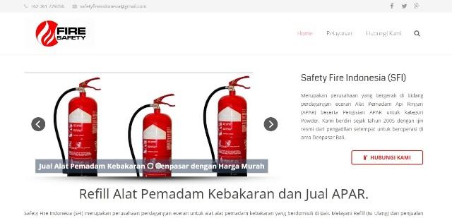 Seo Website Toko Refill APAR di Bali