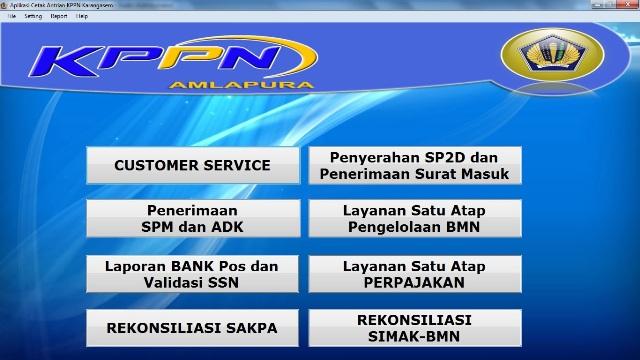 Software Antrian Pelayanan KPPN Amlapura