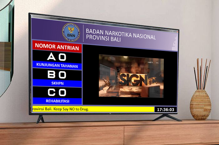 Display Sistem Antrian BNN