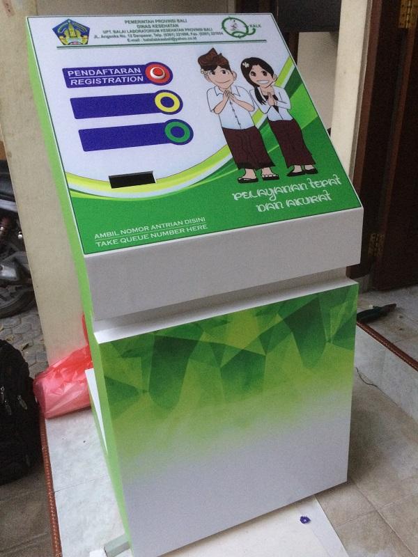 Mesin Cetak Tiket Standing Box Murah Bali