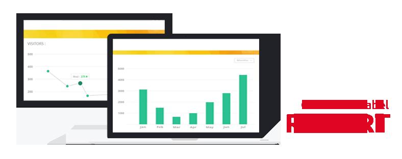 Report Grafik Tabel Alat Kepuasan Pelanggan 3